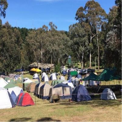 周末野营,自助开启智慧,独立,潜力,释放压力